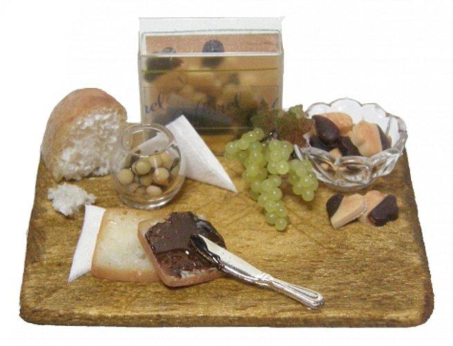 CDHM Artisan Elisabetta Croce of Le Molecole, 1:12 dollhouse miniature foods, italian foods, 1/12, polymer clay