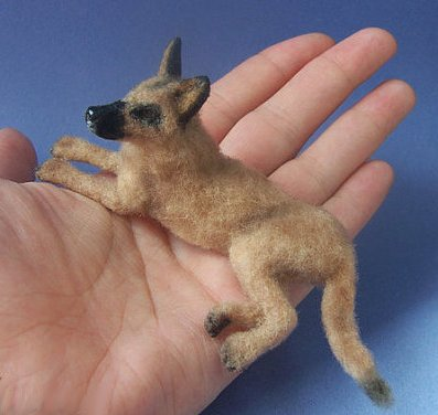 CDHM Gallery of Ina of Malinik Miniatures 1:12 original sculptures, including dogs, animals for dollhouse miniature dollhouses