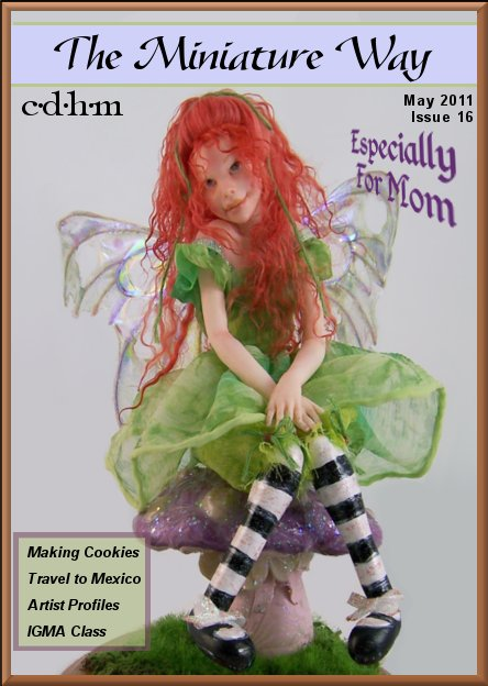 CDHM online magazine of doll and dollhouse artisans
