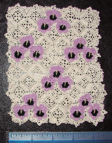 Needlework, Crochet and Linens