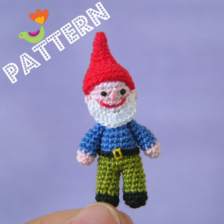 Free Crochet Pattern For Gnome Hat : FREE CROCHET OR KNITTED PATTERNS FOR GNOME DOLLS - Crochet ...