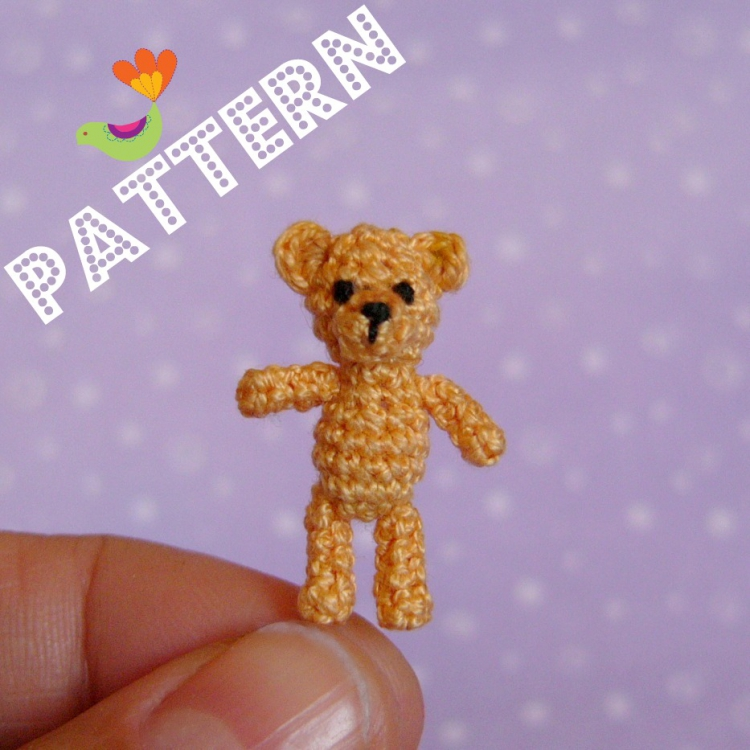 FREE CROCHET PATTERNS FOR MINI THREAD BEARS - Crochet and Knitting ...