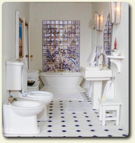 a g girl bathroom on pinterest toilets american girl dolls and american girls. Black Bedroom Furniture Sets. Home Design Ideas