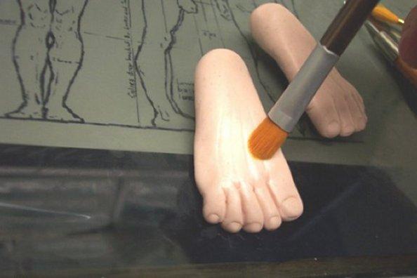 научиться лепить ноги полимерная глина для кукол фея или фантазия лепит