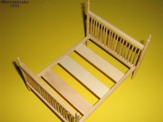 miniature bed