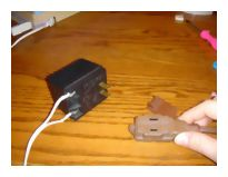 Plugging in 12v transformer