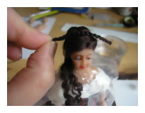 Attaching side ringlets