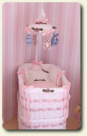 ... CDHM Category Feature, CDHM Yokozona Miniatures Created This Wicker  Mobile For The Dollhouse Nursery